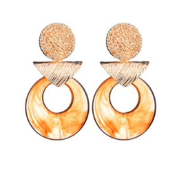 $enCountryForm.capitalKeyWord UK - Multicolored Drop Dangle Earrings For Women Vintage Fashion Pendant Earrings Charm Trendy Jewelry Bohemian Hot E465