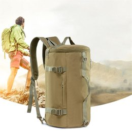 Mountaineering Packs Australia - Crossbody Single shoulder Portable Backpack Outdoor Travel Camouflage Sports Bag Mountaineering Camouflage Backpack Sport Out door Packs