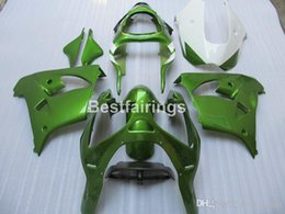 Custom zx9r fairings online shopping - Free custom paint Fairing kit for Kawasaki Ninja ZX9R green motorcycle fairings set ZX9R JK23 Gifts