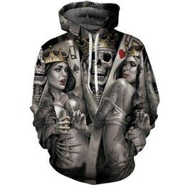 620b37630a3 Skulls Hoodie Australia - New Fashion S-XXXXL Size Skulls Hoodies Men Women  Thin Sweatshirts