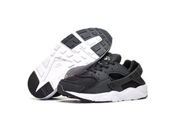 Running Shoes For Sale UK - Wholesale Cheap Running Shoes New Huarache Kids High Quality Wallace Hot For Sale Walking Sports Shoes Free Shipping