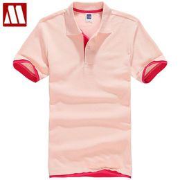 $enCountryForm.capitalKeyWord NZ - Summer Women & Men Pure Color Leisure Polo Shirt Black Pink White Plus Size Breathable Cotton Polo Shirts For Ladies Xs-3xl Q190426