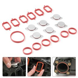 Part kits online shopping - Dynoracing X33mm Auto Replacement Parts for BMW M57 Swirl Blanks Flaps Repair Delete Kit with Intake Gaskets Key Blanks