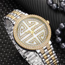 Silver Luxury Watches Diamond Women Australia - Quartz Watch Women Watches Life Waterproof Gold Silver Stainless Steel Strap Round For Ladies Elegant Diamond Fashion Luxury