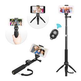 $enCountryForm.capitalKeyWord UK - Andoer Phone Tripod Selfie Stick Phone Holder for Smartphone for Canon Nikon Sony DSLR Cameras for GoPro Hero 5 4 3 3