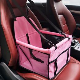 $enCountryForm.capitalKeyWord Australia - Dog Bag Basket Pet Products Fine Joy Pet Dog Carrier Car-carrying Car Seat Pad Safe Carry House Cat Puppy Bag Car Travel Basket C19021302