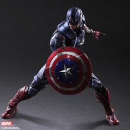 $enCountryForm.capitalKeyWord Australia - Play Arts Kai Marvel Universe Variant Captain America Steve Rogers Action Figure Superhero Model Toy
