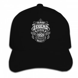 1cda54b1b640a Funny Caps Red UK - Print Custom Baseball Cap Men Camisetas Legend Since  1959 59Th Birthday
