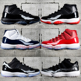 Discount leather racing shoes - New Jumpman 11 11s basketball shoes Bred 2019 Concord Cap and Gown Gamma Legned Blue Low Snake Skin Win Like 82 96 sneak