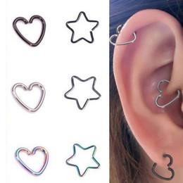 Cartilage Piercing Hoop Stud Online Shopping Cartilage Piercing