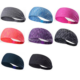 $enCountryForm.capitalKeyWord Australia - Sport Yoga Headband quick Drying Elastic Headbands Working Out Gym Hair Bands for Sports Exercise multi colors 50pcs