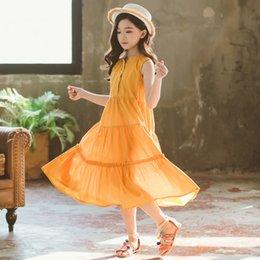 $enCountryForm.capitalKeyWord Australia - Summer 2019 New Girls Maxi Dress Kids Dresses For Girls Baby Beach Dress Children Cotton Dress Ruffles Toddler Clothes,#5162
