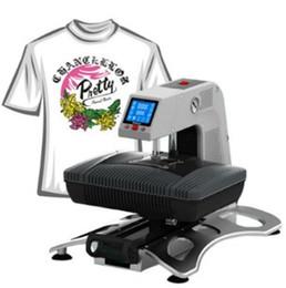 T Shirt Press Machines Australia - ST-420 3D Sublimation Printer 3D Vacuum Heat Press Machine T-shirt Printing Machine Heat Transfer Phone Case Mug Plate LLFA