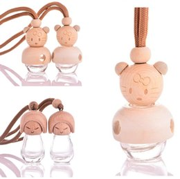 cute puppets UK - Cute little cat  doll perfume bottle, puppet perfume, empty bottle, auto accessories, Car ornaments 5909