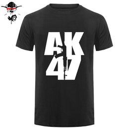 $enCountryForm.capitalKeyWord Australia - Short Sleeve Cotton Man Clothing Tops T-Shirt Homme My Life It's Ak 47 Russian Military Topics T Shirt Sale