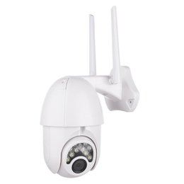 2mp network camera UK - 2MP Outdoor Outside HD Wifi Security Camera 1080P Water Resistant Two Way Audio Wireless Network Camera Household Monitoring