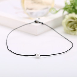 simple necklace models NZ - Explosive Models of hot-selling artificial pearl necklace set 3 piece set Creative simple broken shell necklace wholesale