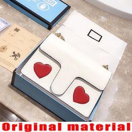 $enCountryForm.capitalKeyWord NZ - Designer shoulder bags designer handbags High quality Crossbody bag Heart-shaped decoration Original leather With dust bag and gift bag