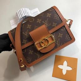 Vente en gros haute qualité DAUPHINE M44391 haute qualité classique Designer femmes sacs à main sacs à main composite sacs à bandoulière sacs à bandoulière femme