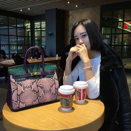 $enCountryForm.capitalKeyWord Australia - Fashion leather women's bag big platinum bag collision colored handbag lady single-shoulder bag cowhide oblique across a hair