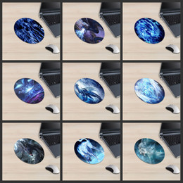 Smoking 3d online shopping - XGZ Animal Round Mouse Pad Smoke Effect Dragon Line Earth Tiger Punishment Wicked Light Shadow Vertigo D Colorful Desk Pad