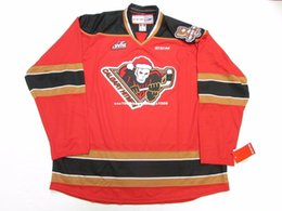 Cheap custom CALGARY HITMEN WHL SPECIAL EDITION TEDDY BEAR TOSS CCM HOCKEY  JERSEY stitch add any number any name Mens Hockey Jersey XS-6XL af870ea49
