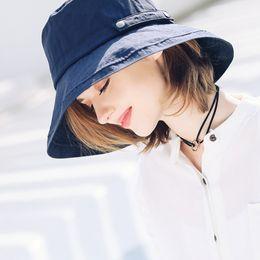 $enCountryForm.capitalKeyWord Australia - 2019 New Fisherman's Hat Women Summer Thin Big Wide Brim Anit Sunscreen UV Protection Style Fashion Hats NO0197291243