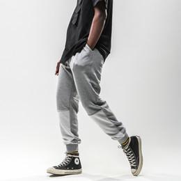 $enCountryForm.capitalKeyWord Australia - Hip Hop Color Block Patchwork Joggers Harem Pants 2019 Men Urban Casual Trousers Full Length Sweatpants Male Fashion