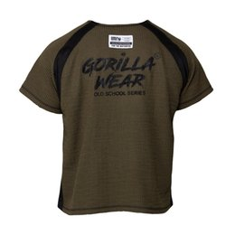 Cool T Shirts Men Australia - 2019 T-Shirt Men Gorilla Wear New Summer Cool Tshirt Short Sleeve Breathable Fitness T Shirts Mens Gyms Bodybuilding Sport Clothing
