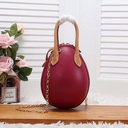 egg gifts Australia - Designer-luxury handbags purses women bag leather handbags egg shoulder bags for women designer handbags with gift bag
