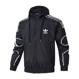 Windbreaker for men 4xl online shopping - Autumn Designer Jackets Coat for Mens Hooded Jacket Fashion Brand Windbreaker Zipper Hoodies Men Sportwear Colors L XL