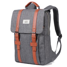 Large Capacity Backpack Australia - 2019 Vintage Men Women Canvas Backpacks School Bags For Teenagers Boys Girls Large Capacity Laptop Backpack Fashion Men Backpack Y19061004