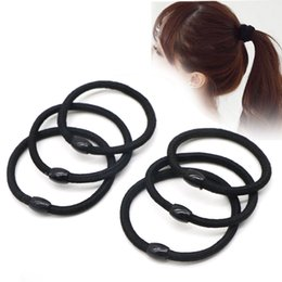 Chinese  tool learn 30PCS Accessories Black Hair Braid Elastic Holders Braiders Rope Rubber Bands Tie Gum Styling Tools For Hair Hairdressers manufacturers