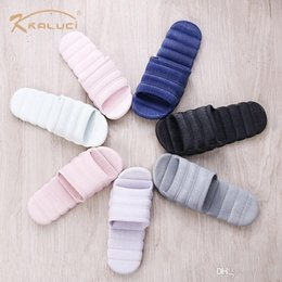 plastics home slippers NZ - 2019 is the non-slip bathroom couple slippers hotel slippers PVC indoor plastic home slippers