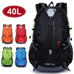 backpack sports luggage Australia - Vertvie 40L Unisex Outdoor Tactical Backpack Waterproof Bag Nylon Backpack Hiking Camping Travel Luggage Sports Large Capacity