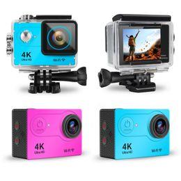 """Toptan satış EKEN H9 Eylem Kamera Ultra HD 4K / WiFi 2.0"""" 170B Sualtı Su geçirmez Kask Video Kaydı Kameralar Spor Kamerası En İyi Hediye 30fps"""