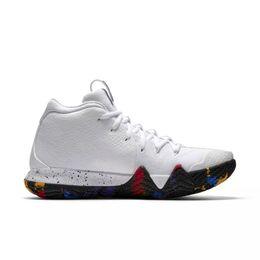 5192880f6ea 2019 New Kyrie 5 Scarpe da basket per uomo Vendita a buon mercato Irving 4  Sneakers Scarpe sportive da uomo Wolf Grey Team Red Outdoor Trainers