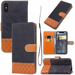 $enCountryForm.capitalKeyWord NZ - Hot marking For iPhone X 7 8 Plus Premium Wallet Case 2in1 Multi-functional vintage PU Leather Phone Cases for samsung