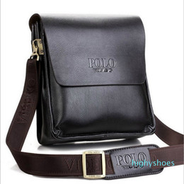 genuine leather man bag small Australia - Real Leather Shoulder Messenger Bag for Men Small One Cross Over Body Side Bag Vertical Business Bags Genuine Leather For Bag