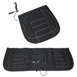 $enCountryForm.capitalKeyWord Australia - 1pc Electric Heated Cushion Universal DC 12V Car Vehicle Seat Pad Winter Auto Seat Heating Warmer Hot Automotive Interior Parts