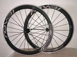 $enCountryForm.capitalKeyWord Australia - ROVAL 50 carbon alloy wheels Aluminum Alloy Brake road bike parts Clincher Carbon Wheels 50MM complete carbon wheelset