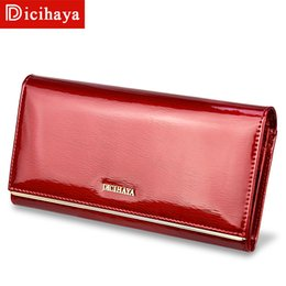 Long Hand Bags Australia - Genuine Leather Women's Wallets Patent Leather Long Ladies Wallets Clutch Design Purse Hand Bags Women Purses Bc150
