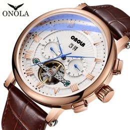Deep Alloys NZ - Luxury Mens Watch Deep Alloy case Fashion business Sapphire Surface Leather strap Pin buckle Automatic Mechanical mens Watches