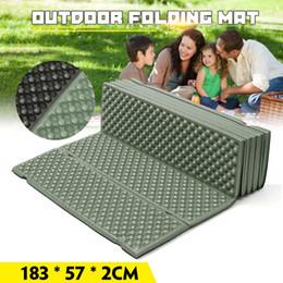 Egg slot online shopping - Outdoor Camping Mat Ultralight Foam Picnic Mat Folding Egg Slot Beach Tent Sleeping Pad Moistureproof Camping Mattress