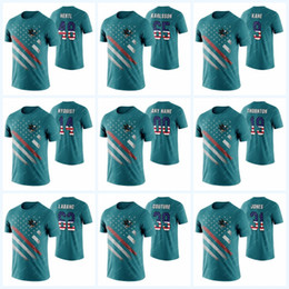 $enCountryForm.capitalKeyWord Australia - 2019 San Jose Sharks Independence Day T-Shirt Brent Burns Joe Pavelski Logan Couture Any Name & Number Men Hockey T-Shirts