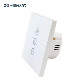 $enCountryForm.capitalKeyWord NZ - Google Home Alexa Enable Wifi Controlled Curtain Switch Smart Life App Home automation Remote Control