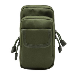 Nylon Tool Bags UK - Outdoor EDC Bag Hunting Bags Tactical Waist Pack Nylon Tools Mobile Phone Utility Sundries Pouch Equipment Packs #499685