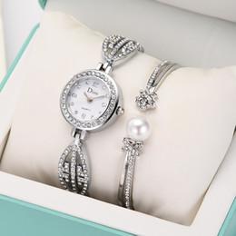 light green bracelet 2019 - Women Bracelet Watch Light Temperament Birthday Gift ladies watches womens watch and bracelet set women wristwatch disco