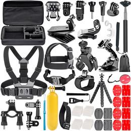ل Gopro Accessories Set go pro hero 7 6 5 4 3 kit 3 selfie stick for Eken h8r EVA