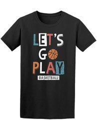 Play Tee Australia - Let's Go Play Basketball Men's Tee -Image by Shutterstock
